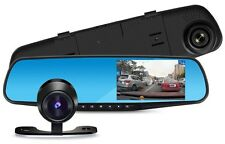 62% OFF Vehicle Blackbox DVR 1080p Dashcam Dual Camera