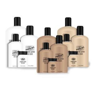 Mehron Liquid Late Choose Your Color and size Mehron Flesh Tan Soft Beige Makeup