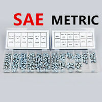 220Pc Hydraulic Lubrication Lube Grease Fittings Assortment Zerk Fitting SAE USA