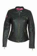 Harley-Davidson 98022-12vw Women's Pink Label Embellished Leather Jacket size L