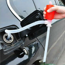 Liquid Gas Transfer Hand Oil Water Pump Manual Portable Car Siphon Hose Portable