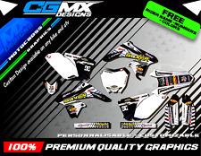 RMZ 250 SUZUKI Boxer Motocross MX ATV QUAD Graphics FULL DECAL Kit deco