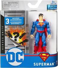 Dc Universe - Dc Comics 1st Edition 4-Inch Superman Action Figure *Brand New*