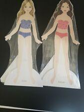 American Girl Project Runway, cardboard Dolls only Samantha and Ashley