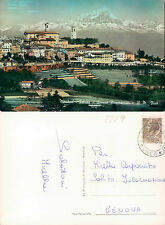 MONDOVI (CN) - PIAZZA - SCORCIO PANORAMICO - IL M. VISO           (rif.fg. 2229)
