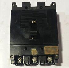 999315 Square D Sqd Circuit Breaker 3 Pole 15 Amp 600V