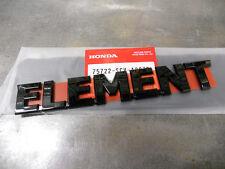 Genuine Honda Black Element SC Emblem 75722-SCV-A20ZB New OEM