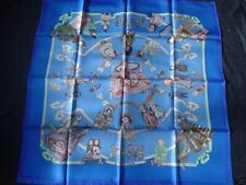 Foulard HERMES  carré  HELLO DOLLY  - Loïc  Dubigeon  scarf