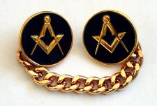 Masonic Jigger Buttons Black