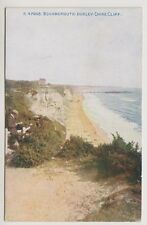 Dorset postcard - Bournemouth: Durley Chine Cliff