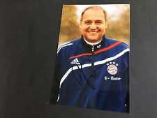 PETER SIRCH FC BAYERN MÜNCHEN In-Person signed Photo 10x15