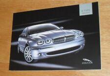 Jaguar X Type Brochure 2005 Sport Premium Sovereign Classic 3.0 2.5 2.0 V6 2.0d
