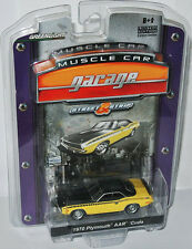 Greenlight MCG - 1970 PLYMOUTH AAR CUDA - yellow/black - 1:64
