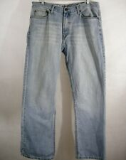 Organic Jeans Men's 34 x 30 Light Wash Cotton Denim Green Source