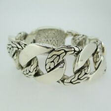 Sterling Silver John Hardy Classic Chain Large Curb Link Bracelet