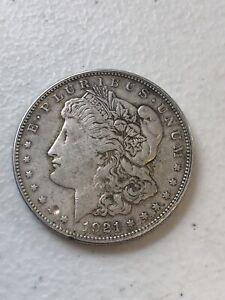 1921 - P Morgan Silver Dollar $1 90% Silver US Coin  S047