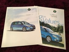 Skoda Roomster Brochure 2006 - UK Issue + 2006 Prices & Specs booklet