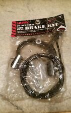 NOS 90's Huffy BMX Brake Caliper Pad Cable & Black Housing Mid School Side Pull