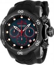 Invicta 22355 52mm Venom Sea Dragon Quartz Chronograph Silicone Strap Mens Watch
