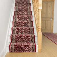 runrug Stair Runner Carpet for Stairs - Long Wide Runners for Staircase - Regal