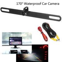 170° Car Reversing Camera Backup License Plate LED Parking Rearview Night Vision