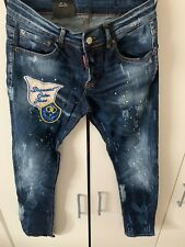 Canten Twins Slim Fit Jeans With Splattered 2% ELASTANE 98% Cotton