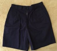 Lands' End Women's Dark Blue Shorts Size 4 Pre Owned