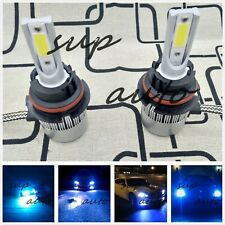 9007 HB5 8000K Bright Ice Blue 8000LM CREE LED Headlight Bulbs Kit High/Low Beam