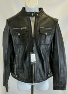 Christian Reed Genuine Leather Jackets New with Tags Women's Black
