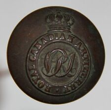 Neat Wwi Womens Hair Or Hat Pin W/ Royal Canadian Artillery Button