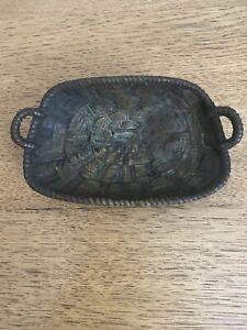 Vintage Morewood Brass Basket/ Soap Dish