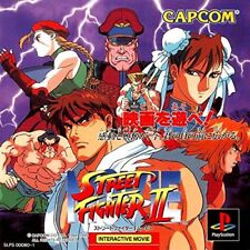 Used PS ONE STREET FIGHTER 2 MOVIE  CAPCOM SONY PLAYSTATION JAPAN IMPORT