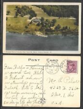 1946 Canada Postcard - Sault Ste. Marie,Ontario - Airplane View of Country Club