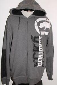 NEW NWT ECKO UNLTD Mens XL X-Large Stitched Logo hooded/Hoodie Sweatshirt