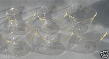 6 Stück Einsätze für Teetasse Glaseinsätze Groggläser Jenaer Glas