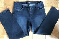 Lane Bryant Women's Straight Stretch Denim Blue Jeans Size 20 Average Fading