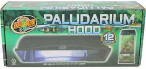 Zoo Med Paludarium Hood, 12-Inch, Black