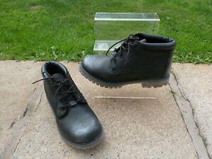 *TIMBERLAND* Ladies Black Leather NELLIE CHUKKA WATERPROOF BOOTS uk5 EC rrp£130