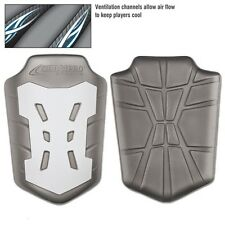 New Champro Infinity Set of 2 Varsity Football Slotted Adult Thigh Pads Grey