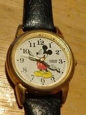 Vintage Mickey Mouse Lorus watch, Dial marked ©Disney, runs new battery NR H