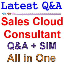 Certified Salesforce Sales Cloud Consultant Exam Q&A PDF+SIM