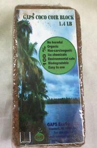 GAPS Coco Peat, Potting Soil (Premium Quality) 1.4 lb