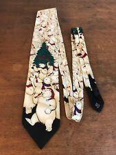 Coca Cola Christmas Theme Polar Bear Collectible Mens Neck Tie