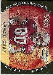 2000 Quantum Leaf All-Millennium Team #JR Jerry Rice /900