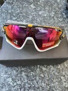 OAKLEY JAWBREAKER Mens Prizm Road Sunglasses (Grey/Pink) Tour De France
