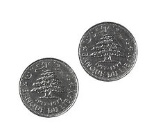 Lebanon Coin Cufflinks