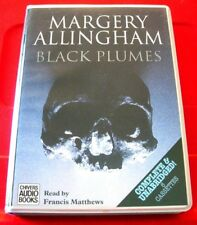 Margery Allingham Black Plumes 6-Tape UNAB.Audio Francis Matthews Crime Thriller