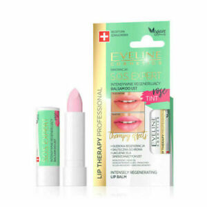 Eveline Lip Therapy S.O.S. Expert Intensely Regenerating Lip Balm - Rose Tint