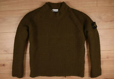 STONE ISLAND Strick - Pullover Gr. M > ORIGINAL < Herren Made in Italy