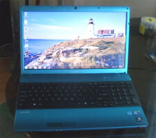 "Sony vaio vpceb190gx 15""  blue intel i5 6Gb memory 500Gb hd HDMI Blueray DVD"